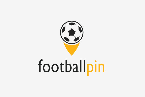 Football Pin Logo