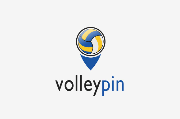 Volley Pin Logo