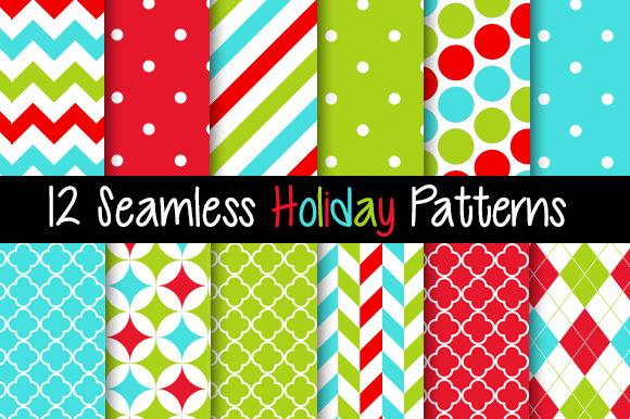 12 Seamless Holiday Patterns