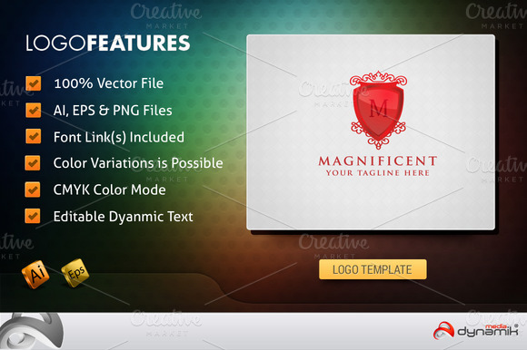 Magnificent Logo Template
