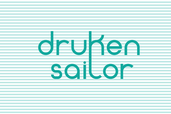 Drunken Sailor Typeface