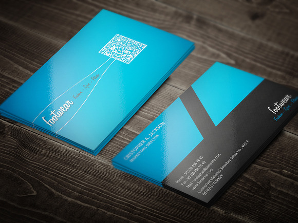 Footwear Business Card