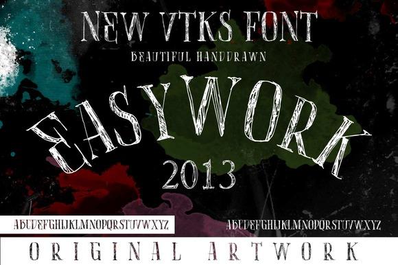 EasyWork Font