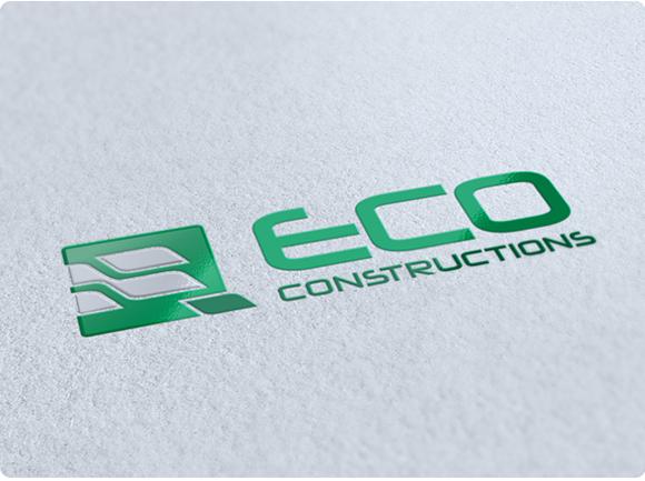 Eco Constructions Logo Design