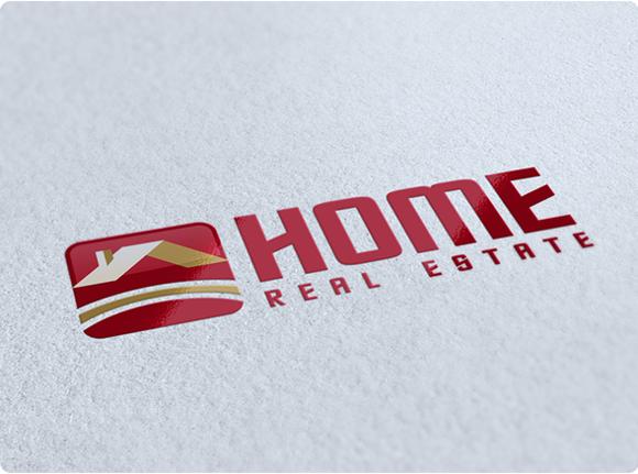 Home Real Estate Logo Design