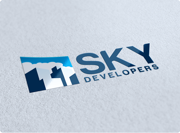 Sky Development Logo Design