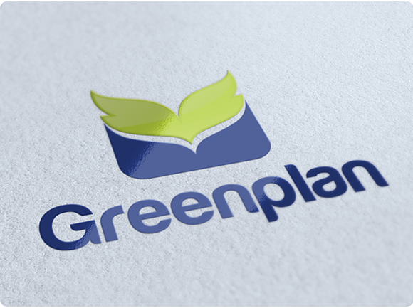 Greenplan Environmental Logo Design