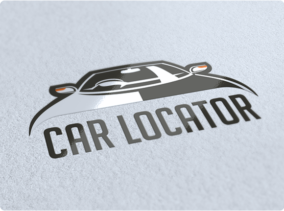 Car Locator Logo Design