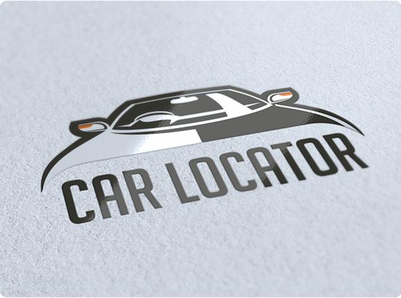 Car Locator Logo Design
