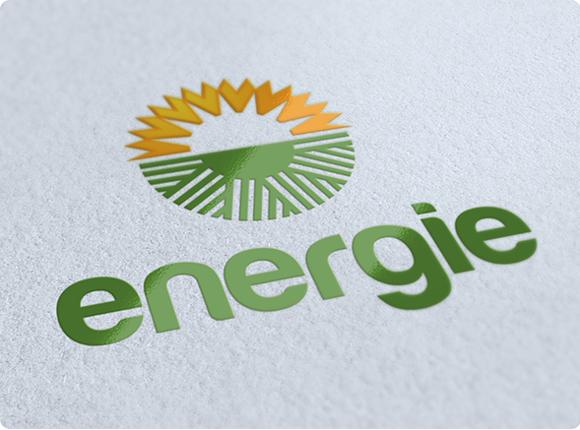 Clean Energy Logo Design