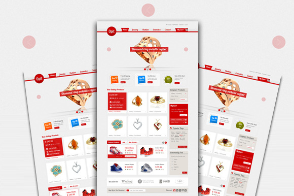 SM Opit Magento Theme