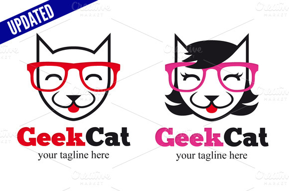Geek Cat Male Female