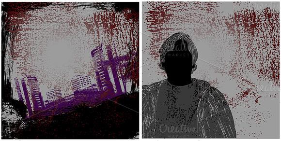 Urban Grunge Vector Backgrounds