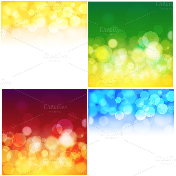 Bokeh Backgrounds