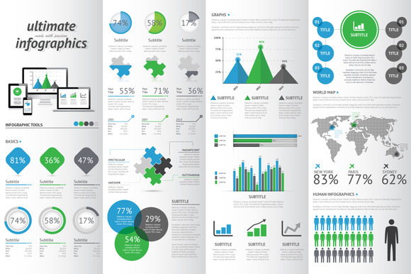 Modern Infographic Set