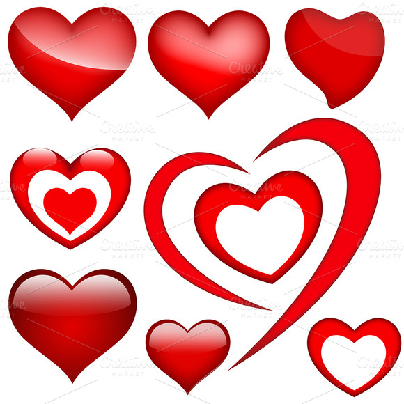 Hearts PNG Vectors
