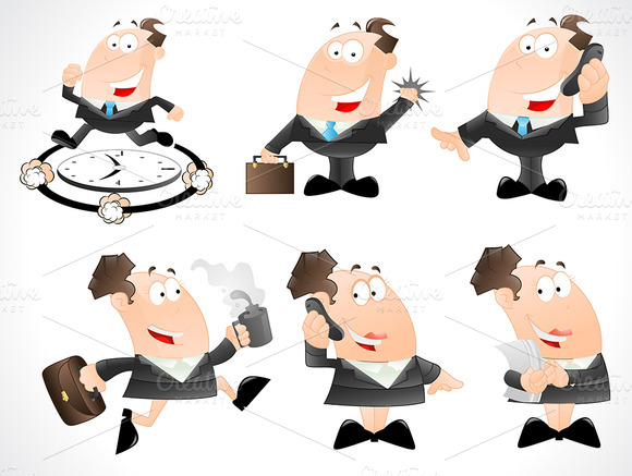 Cartoons Businessmen