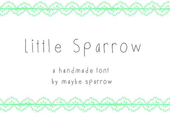 Little Sparrow Font