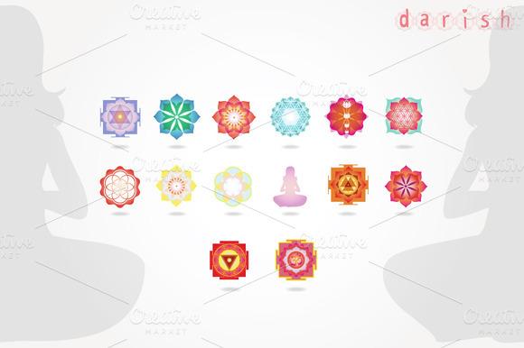 Mini Mandalas Vector Collection
