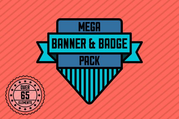 Mega Banner Badge Pack