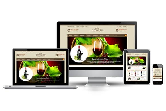 Pav Wine Responsive Opencart Theme