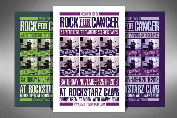 Charity Event Flyer 2 Sizes