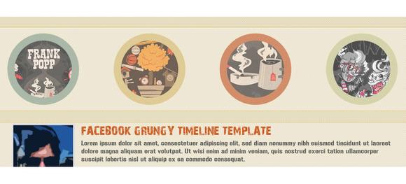 RetyX Facebook Timeline Template