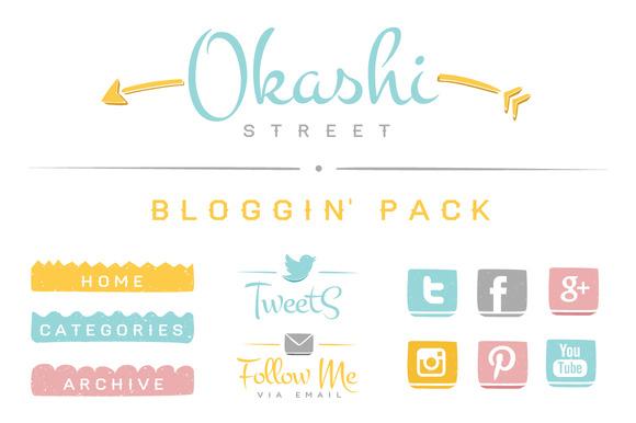 Okashi Bloggin Pack