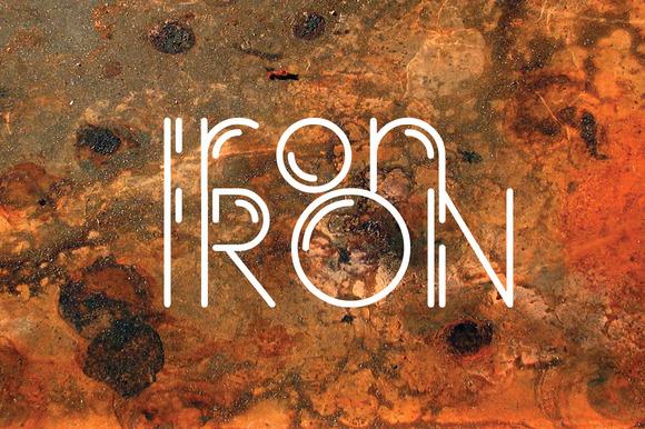 Iron Typeface