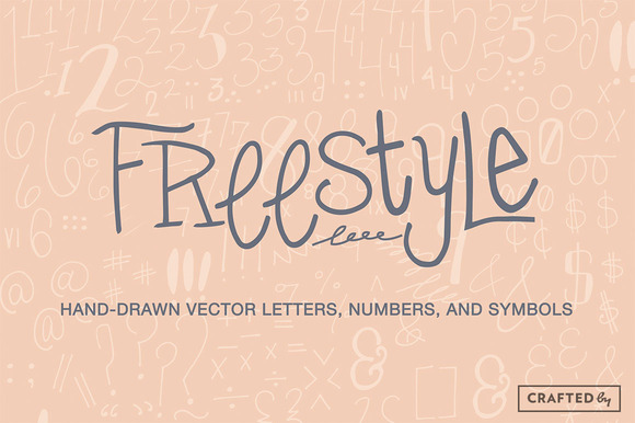 Freestyle Vector Letters