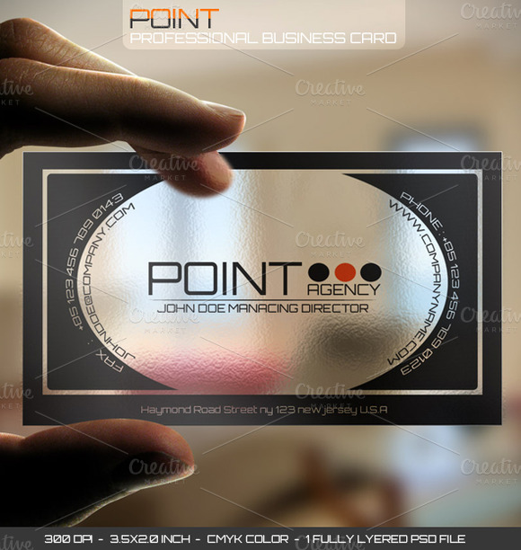 Point Plastic Card