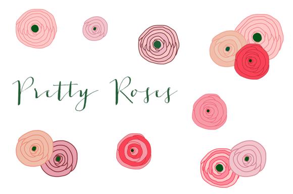 Pretty Roses Clip Art