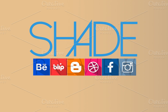 Shade HQ Social Icons