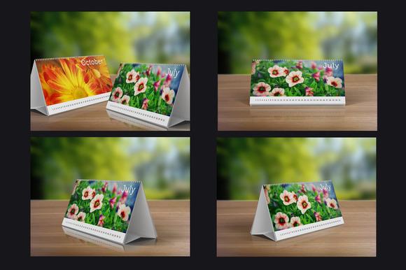 Desk Calendars Mock-Up Pack 33%sale