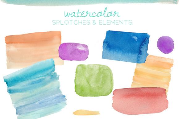 Watercolor Elements