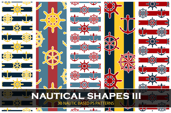 Nautical Shapes III