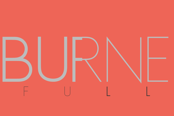 All Burne S Weights WEB FONT LICENSE