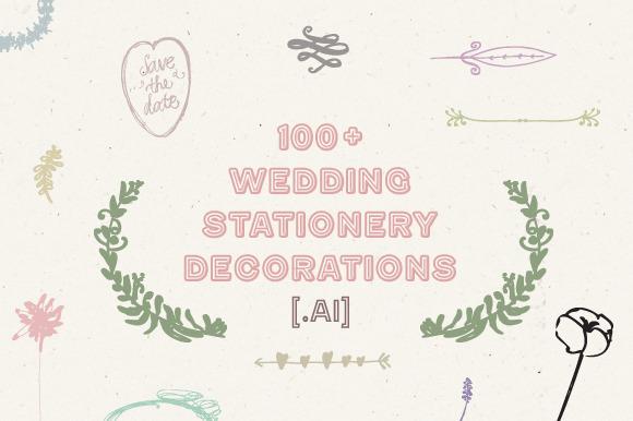 100 Wedding Stationery Decorations