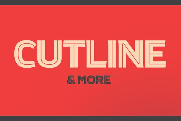 Atrek Bold Inline Cutline