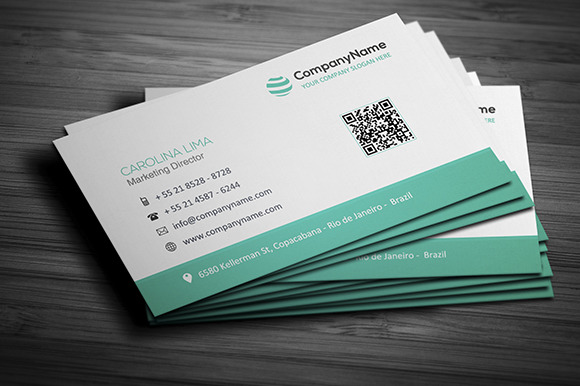Corporate Business Card 001
