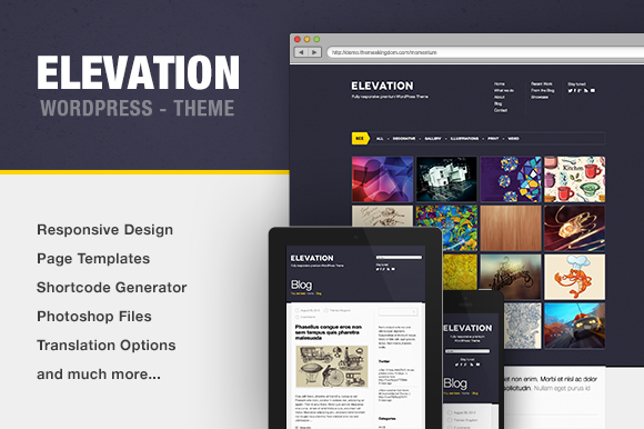 Elevation Portfolio WP Theme