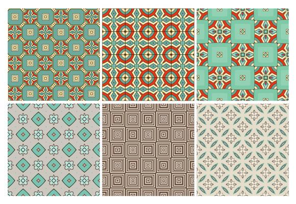 6 Design Retro Patterns