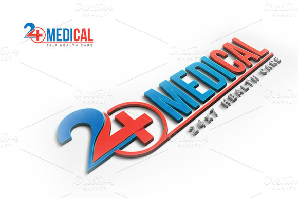 Medical Health Care Logo Template