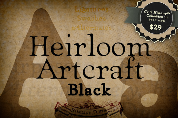 Black Heirloom Artcraft