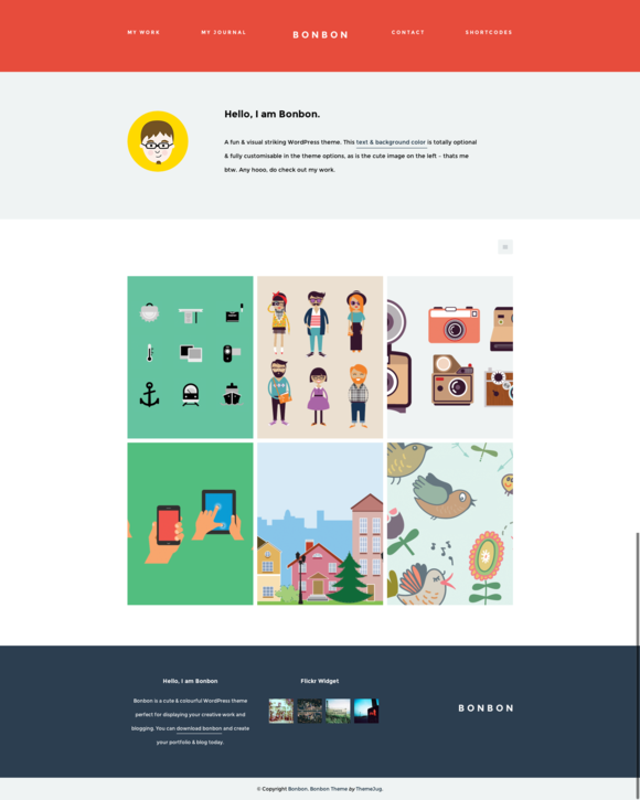 Bonbon WordPress Theme