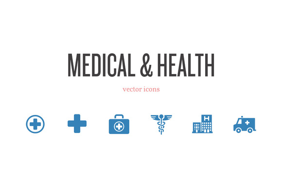 Medical Health Vector Icons