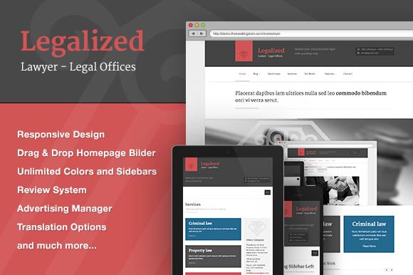 Legalized WordPress Theme