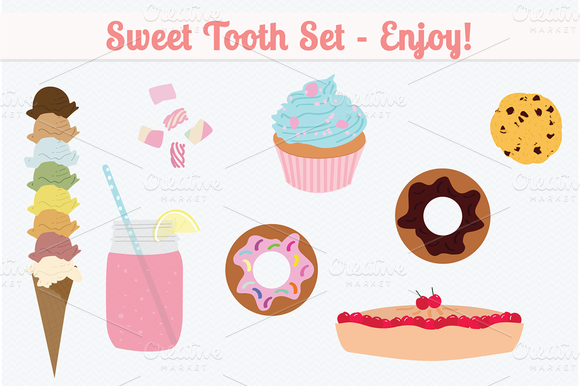 Web Elements Sweet Tooth Set