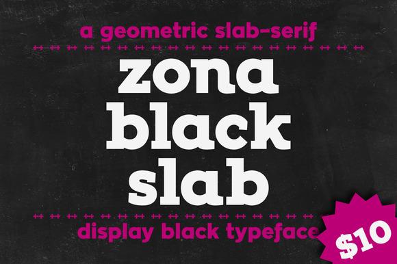 Zona Black Slab