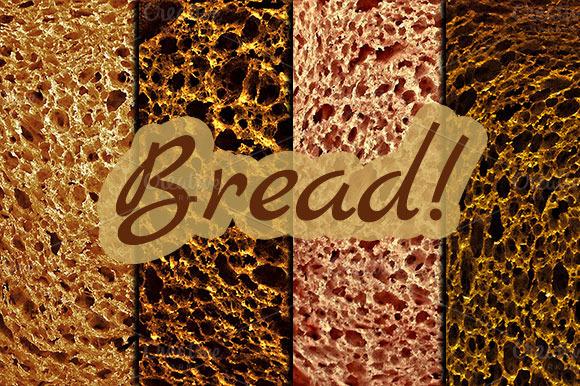 4 Bread Textures